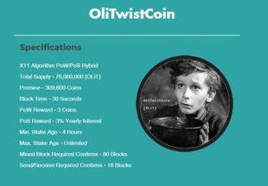 OliTwistCoin (OLIT) — все о криптовалюте, курс и прогноз