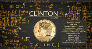Clinton Coin (CLINT) — все о криптовалюте, курс и прогноз