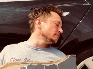 Акции Tesla рухнули после шутки Илона Маска
