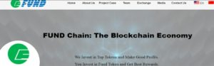 Fund Chain (FUND) — все о криптовалюте, курс и прогноз