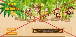 Реальный отзыв о RichMonkey.org — развод на бананах!