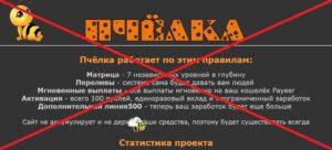 Реальный отзыв о Psota.ru — пирамида!!!